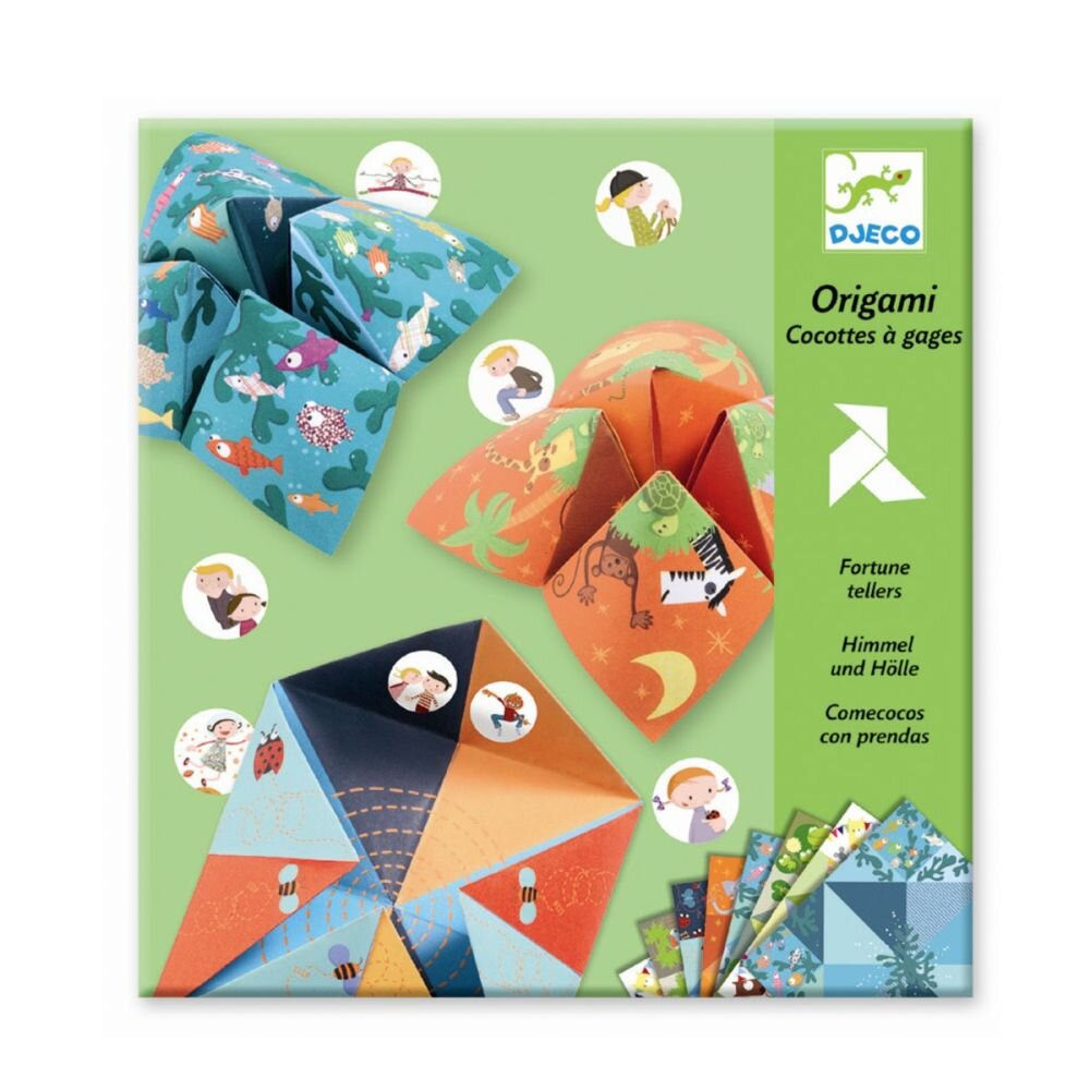 Djeco Flip-flap origami - olisan.dk