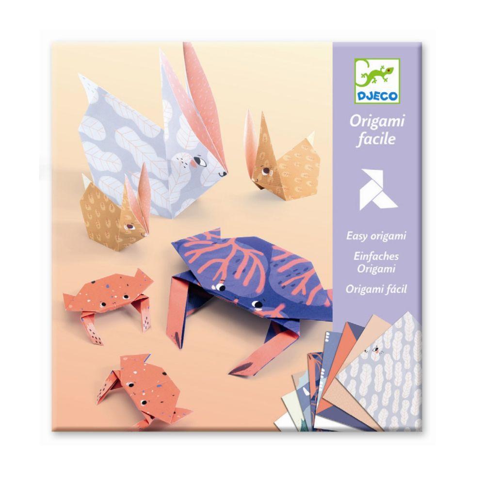 djeco origami med dyr