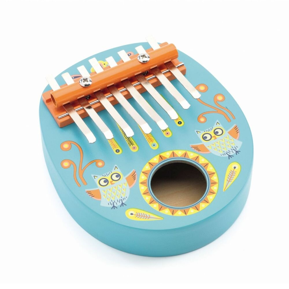 Kalimba fingerklaver instrument fra Djeco