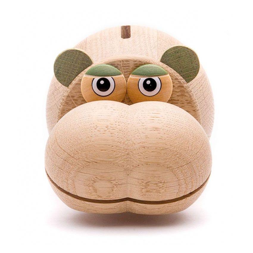 Hippo sparebøsse natur - Olisan.dk