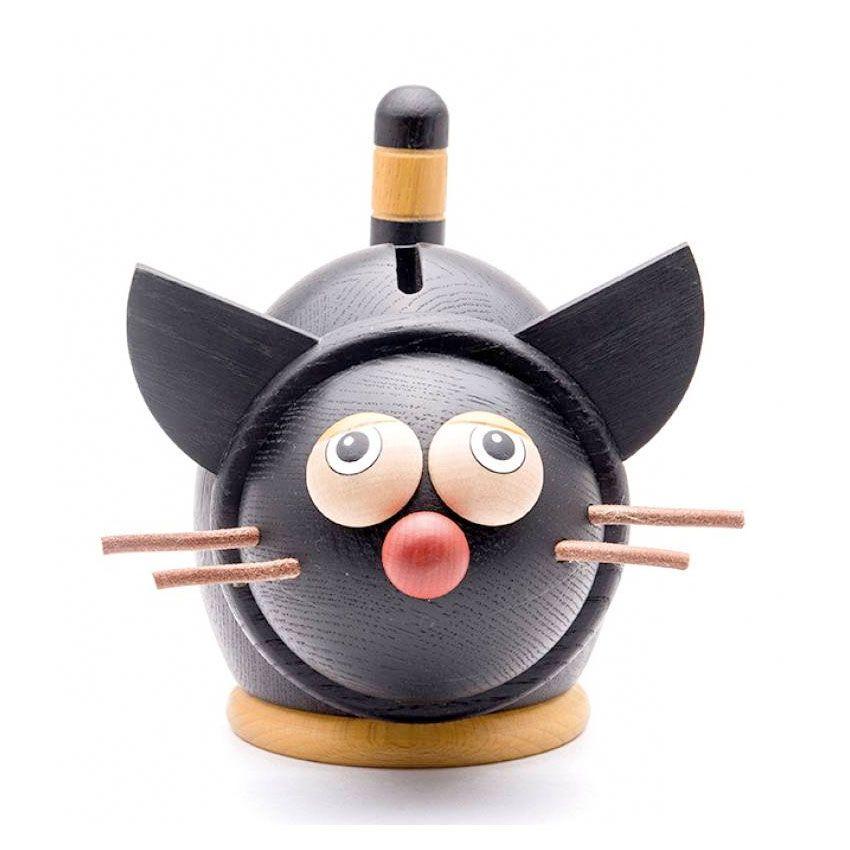 Sparebøsse kat i sort