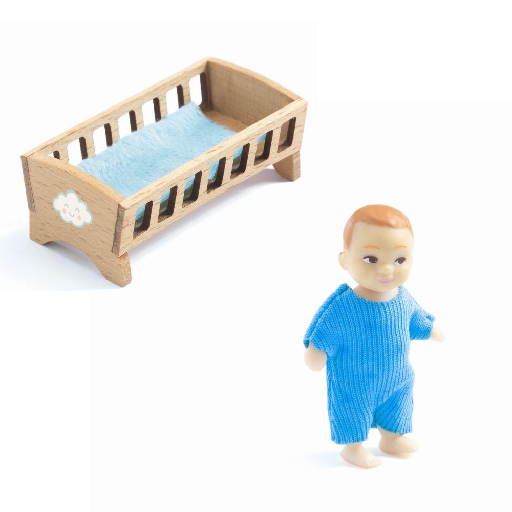 Djeco dukkehus Baby Sascha
