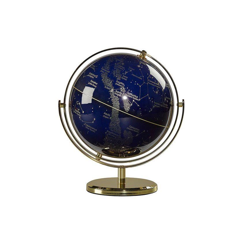 globus med stjernebilleder