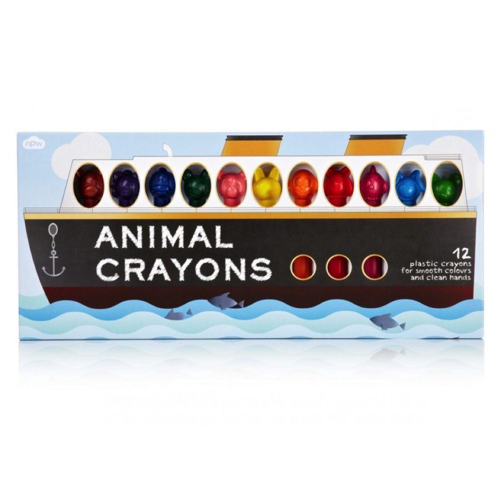 Plastkridt dyremotiv