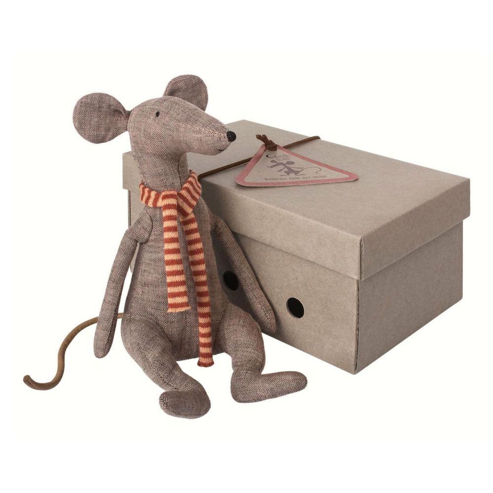 Maileg rotte i grå