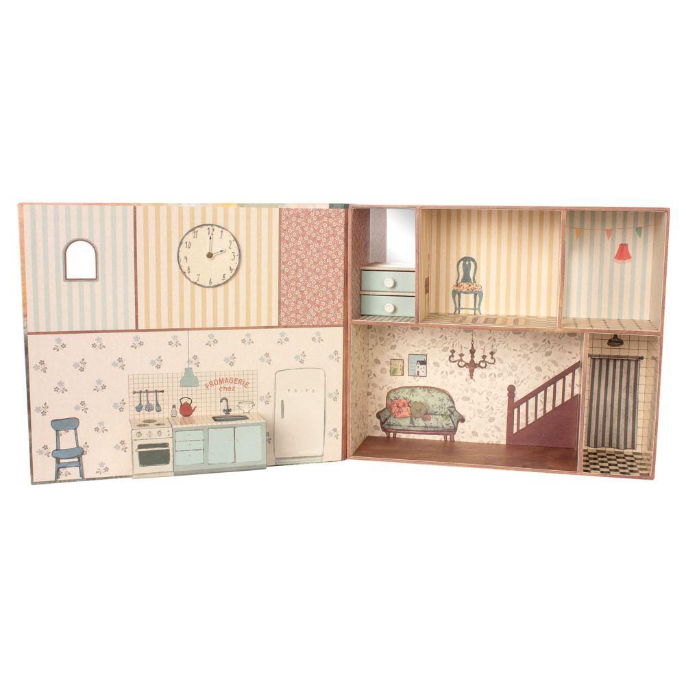 Maileg fold ud dukkehus med flere rum